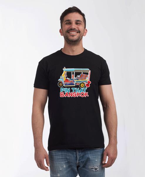 bangkok t-shirt black male